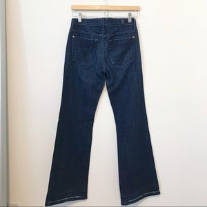 7 For All Mankind Jeans - [7FAM] Dojo Dark Pocket Jeans